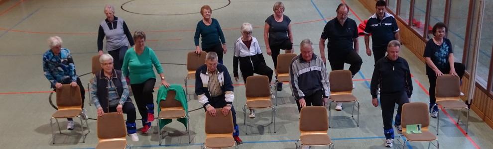 Banner Freizeitgymnastikgruppe VilsingenTrittsicher